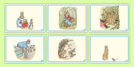 The Tale of Peter Rabbit Short Story Sequencing