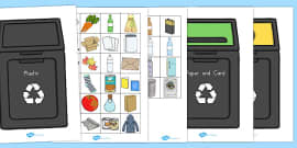 Recycling Sorting Activity (Australia)