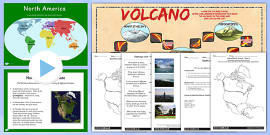 Introduction to North America Lesson Teaching Pack