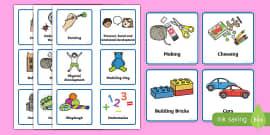 Nursery / Foundation Stage 1 Visual Timetable