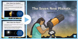 * NEW * TRAPPIST-1: The Seven New Planets PowerPoint