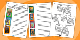 The Chronicles of Narnia Book Cover and Blurb Matching Activity