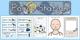Australia - Police Station Role Play Pack