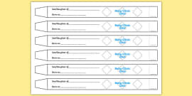 Baby Name Tag Labels