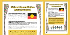National Reconciliation Week Fact Sheet