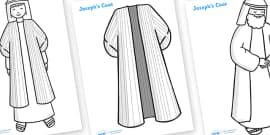 Joseph Story Colouring Sheets