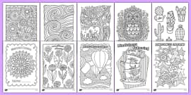 Mindfulness Colouring Sheets Bumper Pack