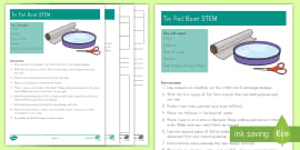 * NEW * Tinfoil Boat STEM Activity and Resource Pack