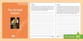 The Bronte Sisters Author Study Pack