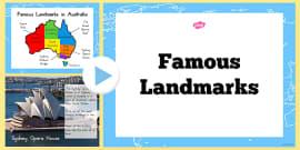 Australia - Famous Landmarks Information PowerPoint