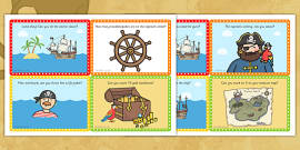 Challenge Cards Pirate Ship