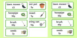 Garden Centre Labels - General Items for sale