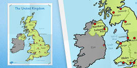 KS1 UK Map