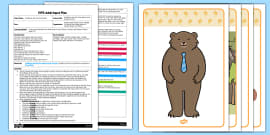 Goldilocks and the Three Bears Voice Sounds EYFS Adult Input Plan and Resource Pack