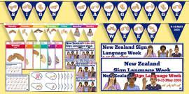 New Zealand Sign Language Week Resource Pack