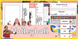 The Olympics Volleyball Resource Pack