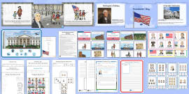 * NEW * Presidents' Day K-2  Resource Pack