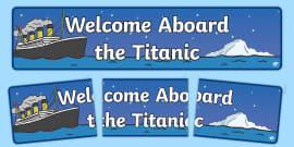 Welcome Aboard The Titanic (Night)