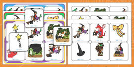 Matching Mat Activity to Support Teaching on Room on the Broom