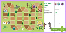 EYFS Little Red Riding Hood Board Game