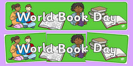 World Book Day Display Banner
