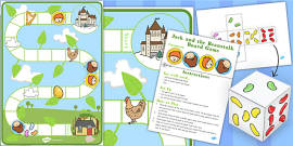 Jack and the Beanstalk Board Game