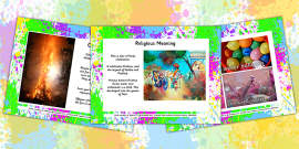 All About Holi Festival PowerPoint