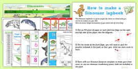 Dinosaur Lapbook Creation Pack