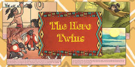 The Hero Twins Mayan Civilization Story