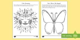 * NEW * Mindfulness Focus Activity Sheets