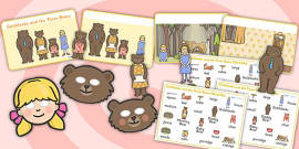 Goldilocks and the Three Bears Story Sack Resource Pack