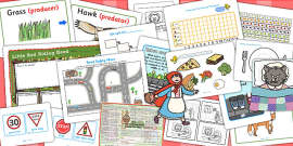 Little Red Riding Hood KS1 Lesson Plan Ideas and Resource Teaching Pack