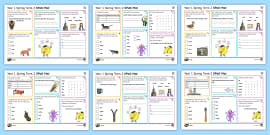 Year 1 Spring Term 2 SPaG Activity Mats