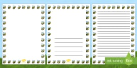 Bee Full Page Borders