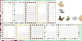 Spring Page Borders