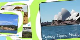 Australia - Famous Australian Landmarks Photo Display Posters