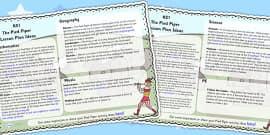 The Pied Piper Lesson Plan Ideas KS1