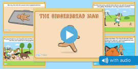 The Gingerbread Man Narrated Story