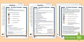 KS1 Ramadan Differentiated Reading Comprehension Activity