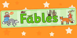 Fables Display Banner