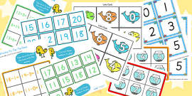 KS1 Addition and Subtraction Starter Ideas Pack