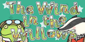 The Wind in the Willows Display Lettering