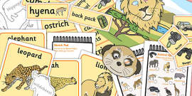 African Safari Role Play Pack