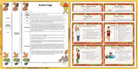 Autumn Yoga Story