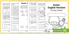 SATs Survival Year 2: Easter English Revision Activity Booklet