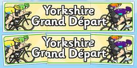 Yorkshire Grand Départ Display Banner