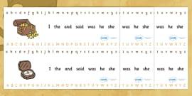 Alphabet Strips (Pirates)