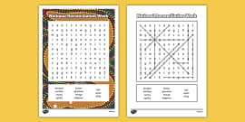 National Reconciliation Week Word Search