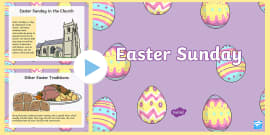 * NEW * When Is Easter Sunday? PowerPoint