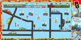 Ready Made Transport Road Safety Display Pack
